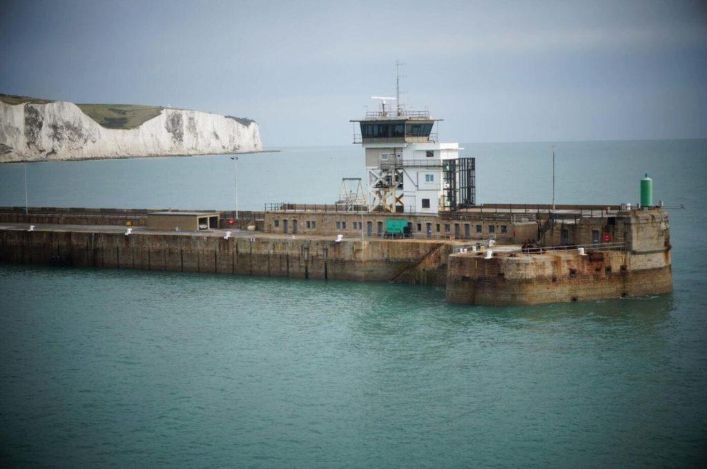 Calais Dover Ferry Ride