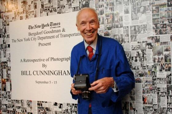 Bill Cunningham New York Times Fashion Photography