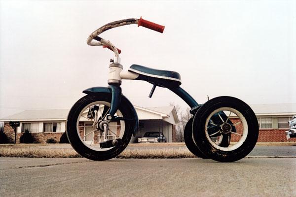 William Eggleston tricycle picture aurélie lemaire slow culture