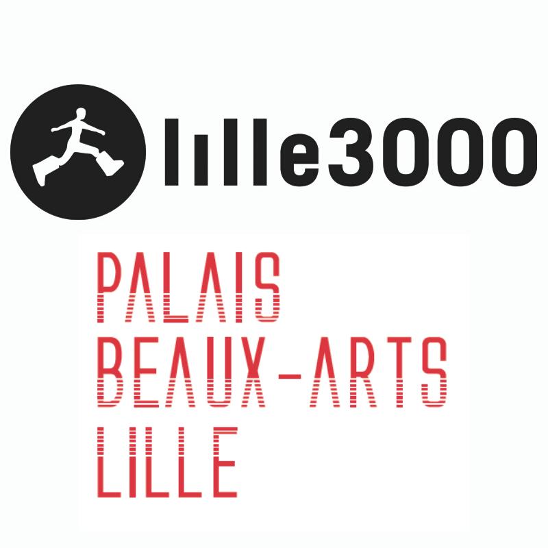 Lille 3000 x Palais des beaux arts Lille logo