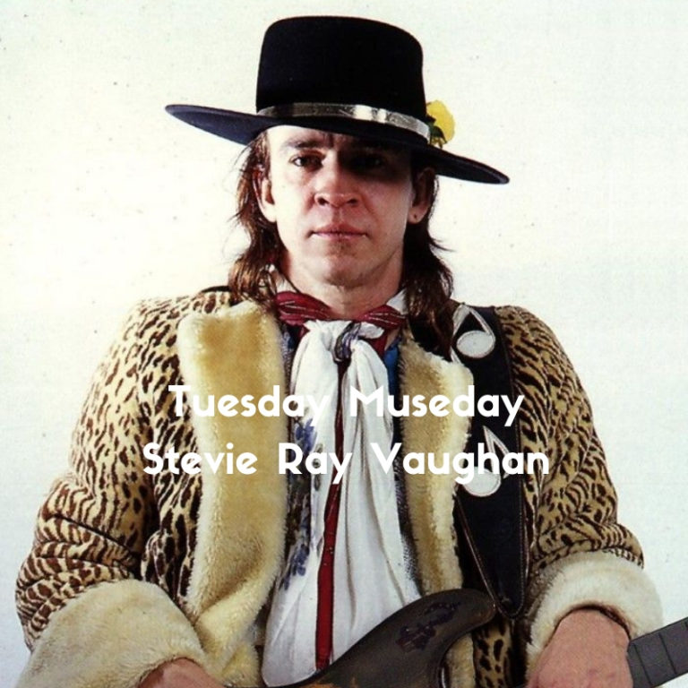 Stevie Ray Vaughan portrait slow culture