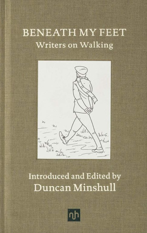 Duncan Minshull, Beneath My Feet, Writers on Walking - Book cover - notting hill books