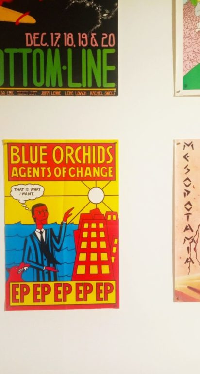 Punk Graphics at the ADAM Design Museum of Brussels - Blue Orchids Agent of Change