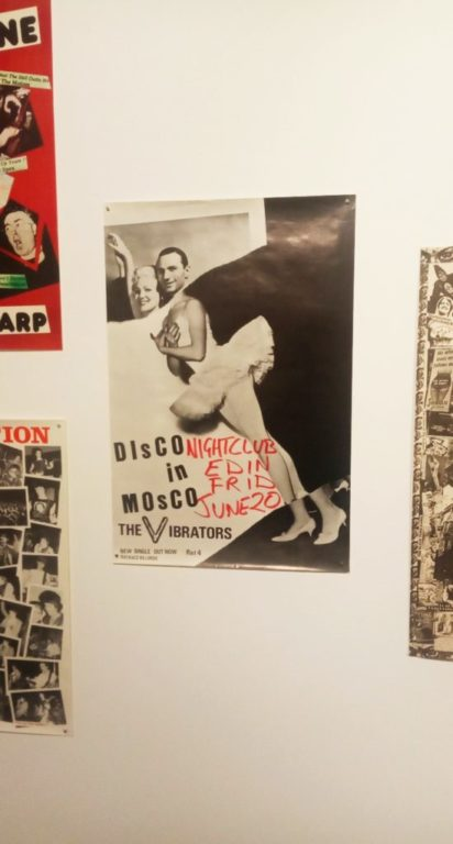 Punk Graphics at the ADAM Design Museum of Brussels - Disco in Mosco