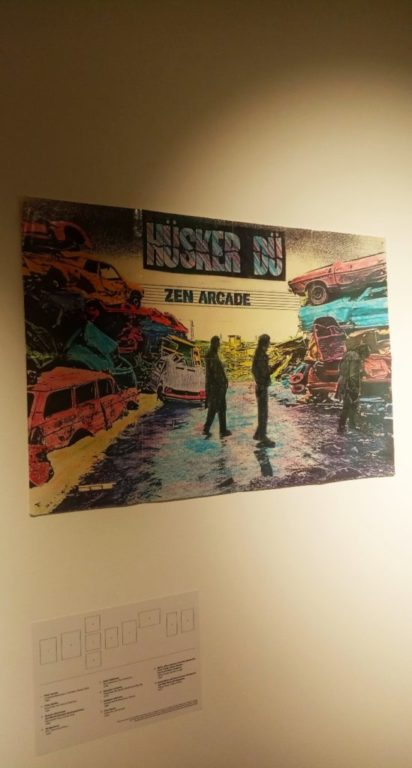 Punk Graphics at the ADAM Design Museum of Brussels - Husker Du Zen Arcade