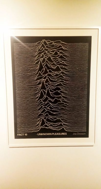 Punk Graphics at the ADAM Design Museum of Brussels - Joy Divison Unknown Pleasures