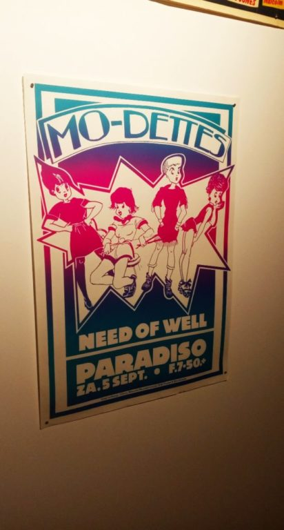 Punk Graphics at the ADAM Design Museum of Brussels - Mo-dettes Need of Well