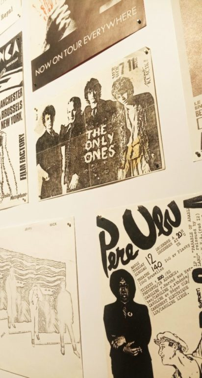 Punk Graphics at the ADAM Design Museum of Brussels - Pere Ubu