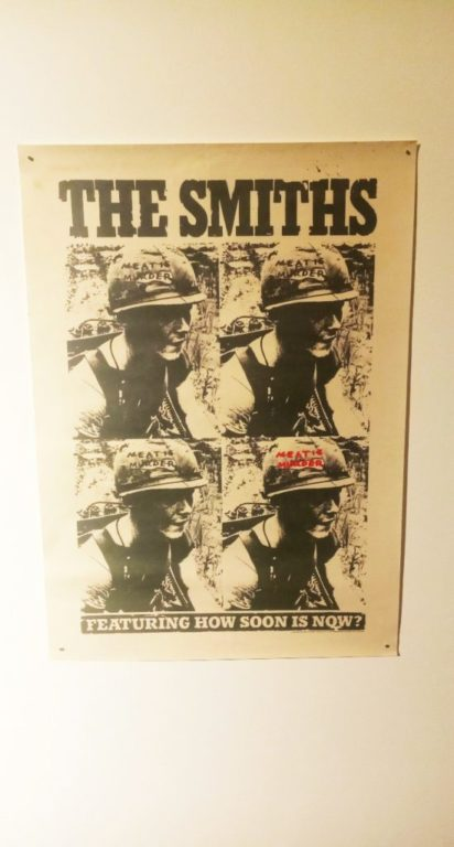 Punk Graphics at the ADAM Design Museum of Brussels - The Smiths How soon is now