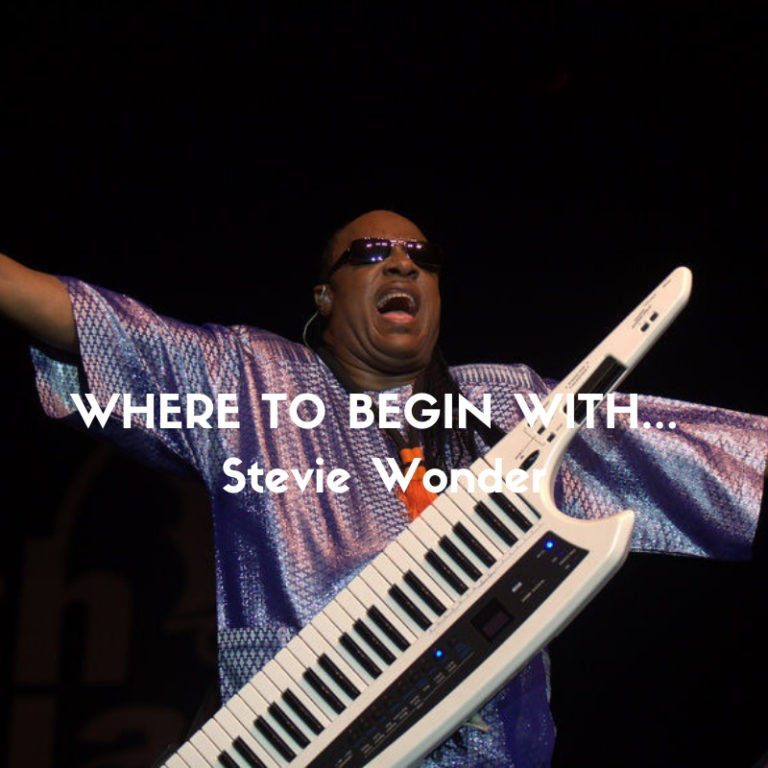 Where to begin with Stevie Wonder by Marc Louis-Boyard for Slow Culture