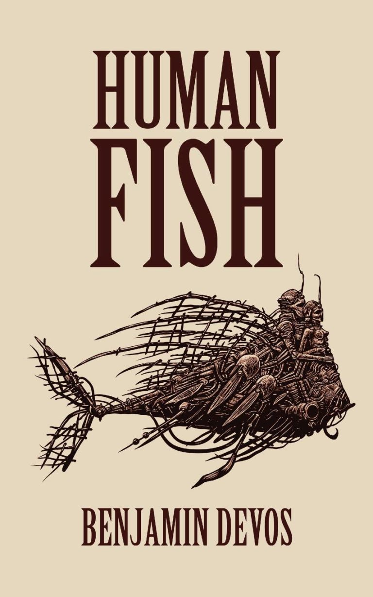 Benjamin Devos - Human Fish book front cover
