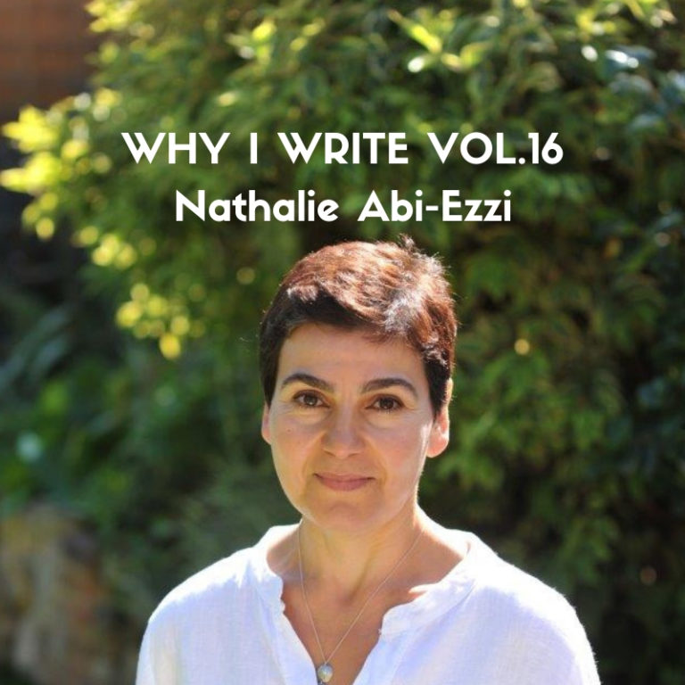 Nathalie Abi-Ezzi - Why I Write for her novel Paper Sparrows