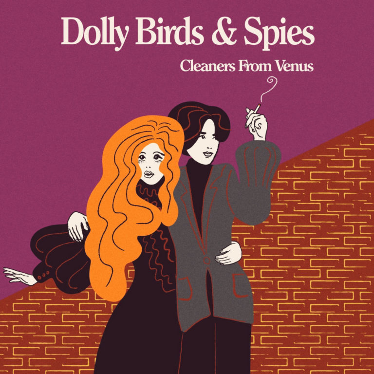 Cleaners from Venus, Dolly Birds and Spies front cover art