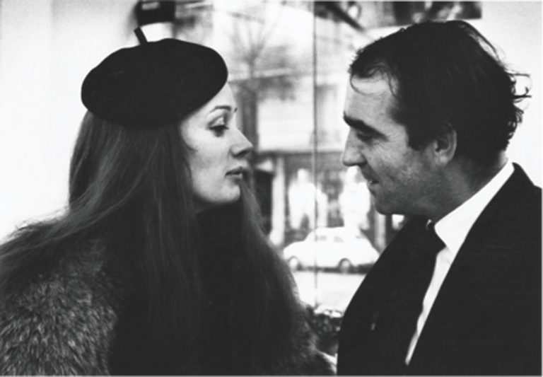 Niki de Saint Phalle and Jean Tinguely - black and white