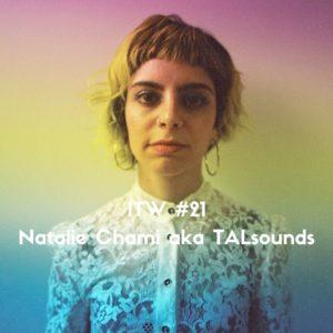 Portrait of Natalie Chami aka TALsounds by Maria Tzeka