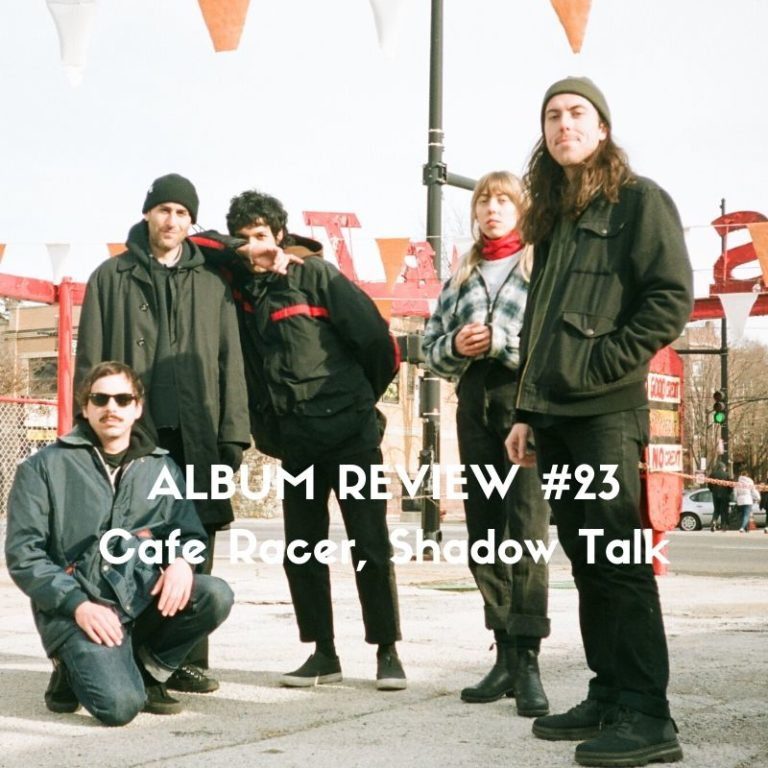 Shadow Talk LP by Cafe Racer, album review by Marc Louis-Boyard for Slow Culture