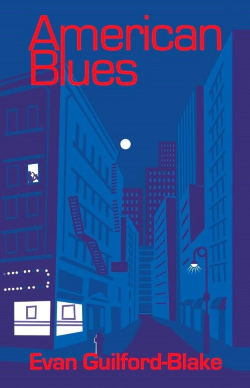 Book cover of American Blues by Evan Guilford-Blake