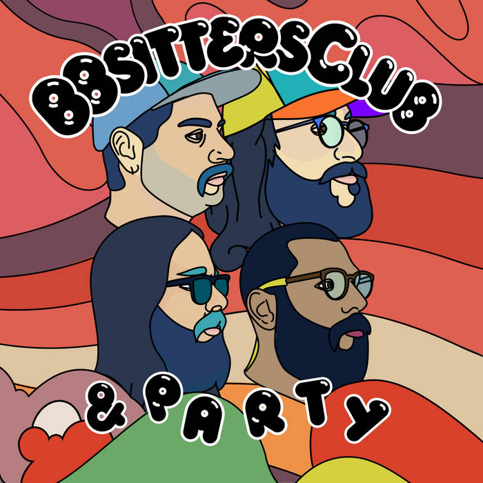 BBsitters Club & Part - Album art front